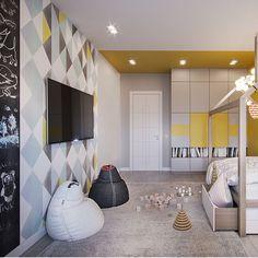 Baby Bedroom, Kids Bedroom, Bedroom Decor, Room Interior, Home Interior Design, Toddler Rooms, Kids Room Design, Minimalist Home, Kids House