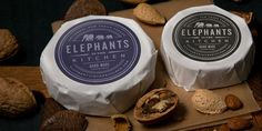 Elephants in the Kitchen, Artisan and VeganCheese - The Dieline -