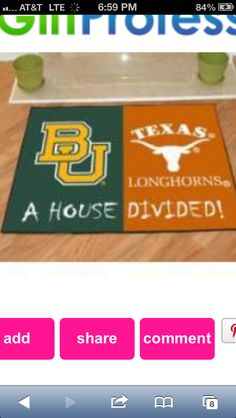 My favorite two schools ( BU number #ONE and UT number TWO)