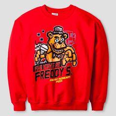 Boys' Five Nights at Freddy's Sweatshirt - Red : Target