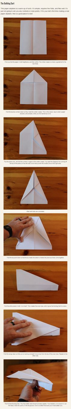 I've always wanted to make paper airplanes that fly a good distance - Album on Imgur