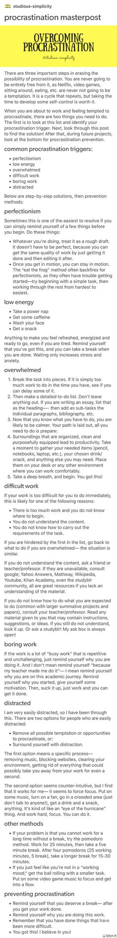 Trips for dealing with procrastination. Trips for dealing with procrastination. The post Trips for dealing with procrastination. appeared first on School Ideas. College Life Hacks, Life Hacks For School, School Study Tips, College Tips, School Ideas, Study Skills, Study Inspiration, Study Notes, Student Life
