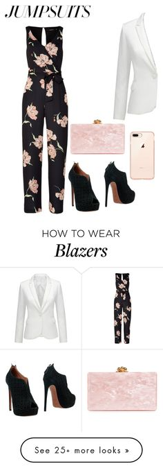 """""""love jumpsuits"""" by fashionplanet01 on Polyvore featuring Alaïa, Edie Parker and jumpsuits"""