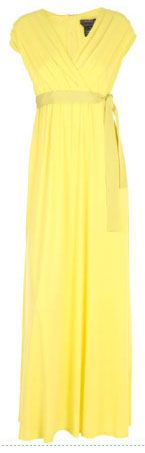 Lemon Yellow Maxi Dress