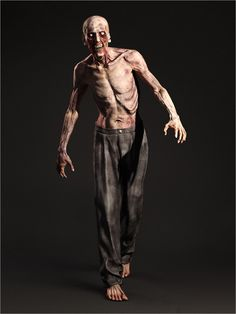 Zombie - Game Character Model available on Turbo Squid, the world's leading provider of digital models for visualization, films, television, and games. Girl Zombie Costume, Zombie Pose, Zombie Cosplay, Zombie Girl, Girl Costumes, Cosplay Costumes, Zombie Cartoon, Zombie Disney, Character Modeling