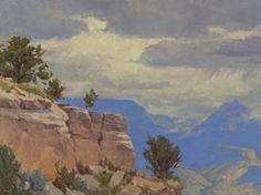 Afternoon Weather, Grand Canyon 18x24 by Cody DeLong  ~  x