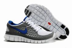 Mens Nike Free Run Grey Blue Shoes [New Shoes 259] - $49.99 : Toms Outlet,Cheap Toms Shoes Online