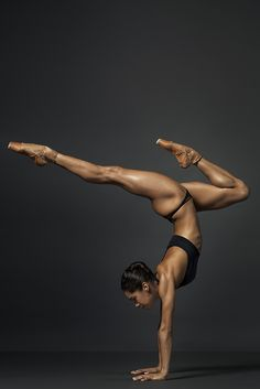 communified: Misty Copeland by Henry Leutwyler - Women Fitness Models #strength #yoga #handstands