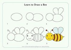 Step by step drawing pages