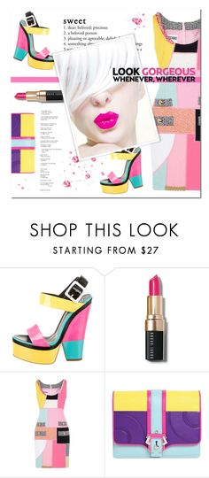 """Look Gorgeous !"" by chathurika-gamage ❤ liked on Polyvore featuring beauty, Giuseppe Zanotti, Bobbi Brown Cosmetics, Moschino, Prada and Paula Cademartori"