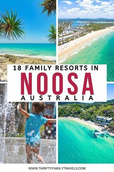 Where to stay in Noosa with kids? Check out the best family accommodation in Noosa - including everything you know to choose the best accommodation for your family such as resort facilities and the distance to all the main attractions around Noosa. Noosa Australia, Visit Australia, All Family, Family Travel, Travel With Kids, Best Family Resorts, Travel Guides, Travel Tips, Travel Destinations