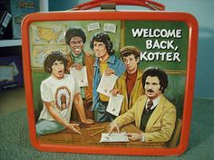Vintage WELCOME BACK, KOTTER Metal Lunch Box