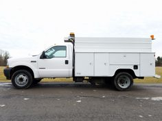 2003 Ford F-550 XL SD Diesel Utility Truck ~ 68K Actual Miles