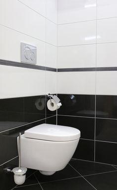 Moderne badezimmer schwarz weiss  Boden im Schachbrettmuster-fliesen schwarz weiß | ❥Schwarz/Weiss ...
