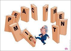 Cunha chuta Dominó do impeachment de Dilma...