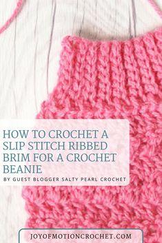 Slip stitch ribbed b