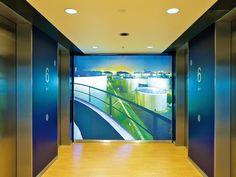 Badezimmer deckengestaltung ~ Clipso print an der decke im modernen badezimmer clipso wand