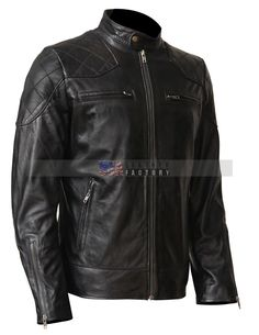 David Beckham Leather Jacket For Bikers - USA Leather Factory Designer Leather Jackets, Leather Jackets For Sale, Stylish Jackets, Stylish Men, Men's Leather Jacket, Leather Men, Biker Leather, Black Leather, Cowhide Leather