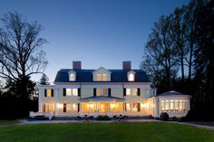 Neoclassical Home - traditional - Exterior - New York - Knight Architects LLC