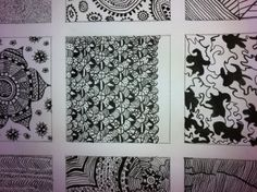 Structures* Indian ink and pen*