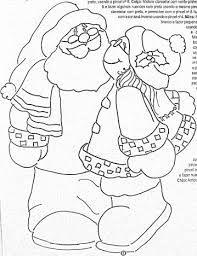 Resultado de imagem para riscos natal casal noel