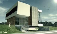 Projeto de residência unifamiliar - Praia Brava / Itajaí - SC. Marina Bay Sands, Landscape Design, Brazil, Villa, Cottage, Construction, House Design, Urban, Architecture