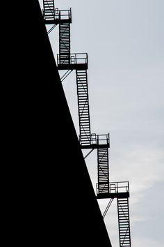 Black & White Treppen Stairs Escaleras repinned by www.smg-treppen.de #smgtreppen