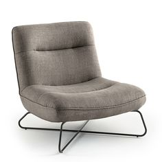 Zetel in linnen helma Am. Modern Chairs, Modern Furniture, Poltrona Design, Take A Seat, Sofa Chair, Rustic Design, Floor Chair, Cool Things To Buy, Upholstery