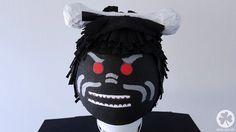 Anleitung Lego Ninjago Piñata für eine Ninjago Party: Lord Garmadon
