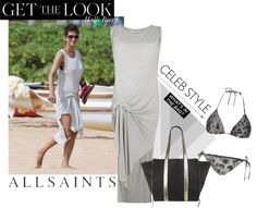 """""""Get the look Allsaints"""" by stacy-gustin ❤ liked on Polyvore"""