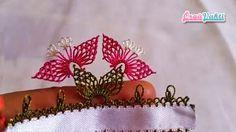 İğne Oyası Badem Çiçeği Modeli Yapımı Videolu Anlatımlı