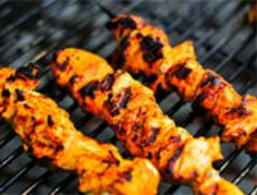 Grilling: Yogurt-Marinated Chicken Kebabs with Aleppo Pepper | Serious Eats : Recipes