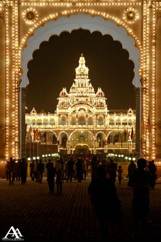 Mysore Palace, India. To book go to www.notjusttravel.com/anglia