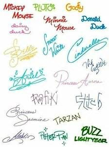 Collect some Disney signatures on your next visit to Walt Disney World, Disneyland California, Disneyland Tokyo or Disneyland Paris! Disney Pixar, Disney Parks, Walt Disney World, Arte Disney, Disney And Dreamworks, Disney Magic, Funny Disney, Walt Disney Quotes, Cute Disney Quotes