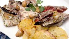 Receta de Besugo al horno con patatas panadera #besugo #receta