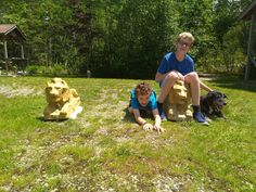 New Ross Lion's Park and Walking Trails with www.ValleyFamilyFun.ca