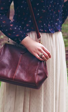 | I was wearing  Zara blouse  HM skirt | vintage bag  Newlook heels Accessorize and Toshop rings