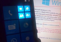 "New images of the Windows Phone 8.1 existence   Last week we read about that alleged the Windows Phone 8.1 already exists and you have seen how his image is a work Lumia 620 device. The image displayed in the notification center tile saw Lumia 620 device. Well, now you can see a picture of a supposed new Windows Phone 8.1 ""Blue"" from leaking out, which shows a new feature, the application of association (folder) to the Notification Center option on the homescreen."