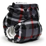 Rumparooz One Size Cloth Pocket Diaper in Prints: Patented Dual/Double Gusset Technology