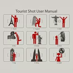 Great ideas to get the typical tourist pictures! #travel #tourist
