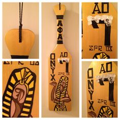 Alpha Phi Alpha Paddle
