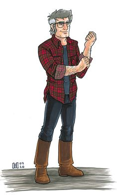 me: [thinks about ford] nice me: [thinks about ford in flannel with the sleeves rolled up, Just Right] NICE