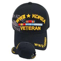 Warriors World War II Korea Veteran Shadow Caps here and save, plus get free USPS domestic shipping. Navy Store, Tactical Operator, W Korea, Military Cap, Embroidered Caps, Army Veteran, Korean War, Vietnam Veterans, Wwi