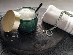 Body Scrub: Luxurious combination of sugar and delightfully soothing oils. Specially developed for nourishing and vitalising the skin, including dry skin. Massage the body scrub over dampened skin with a rotating movement. Rinse off with warm water.