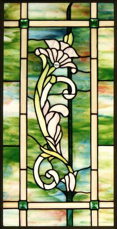 flower stained glass