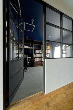 Ny Style, Interior Architecture, Home Office, Divider, Projects, Room, House, Furniture, Home Decor