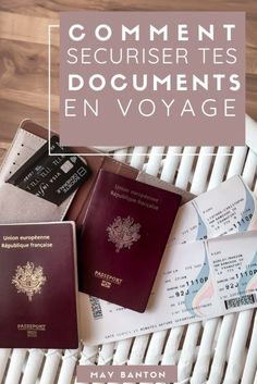 Comment sécuriser tes documents en voyage - MAY BANTON - Airplane Photos Cheap Places To Travel, Cheap Travel, Cheap Family Vacations, Have A Nice Trip, East Coast Travel, Road Trip Usa, Usa Roadtrip, Packing Tips For Travel, Traveling Tips