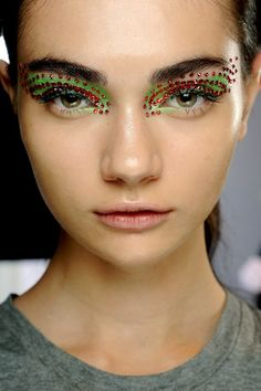 This eye look is not for the faint hearted!