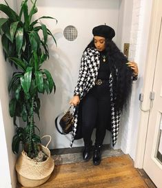 Cute Fall Outfits, Winter Fashion Outfits, Dope Outfits, Fall Winter Outfits, Classy Outfits, Stylish Outfits, Girl Outfits, Flannel Outfits, Black Girl Fashion