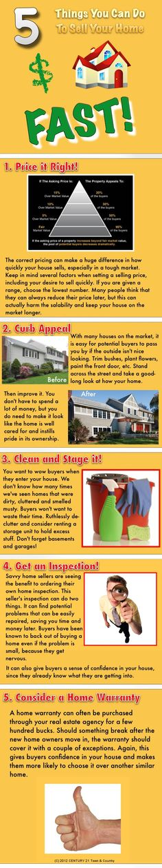 5 Things You Can Do To Sell Your Home Fast!